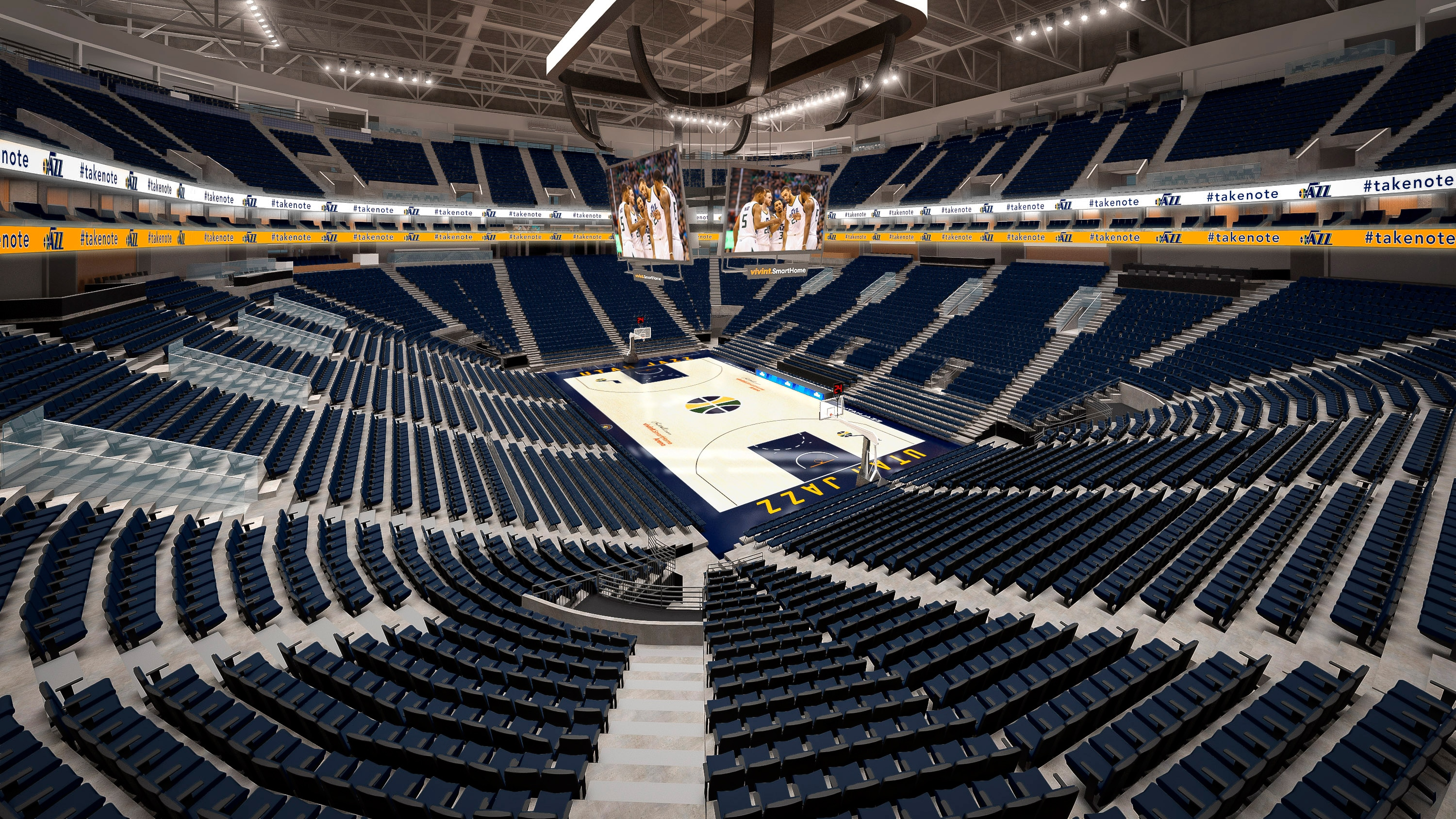Toyota Of New Orleans >> New Jazz Blue Cushioned Seats for All Fans | Utah Jazz