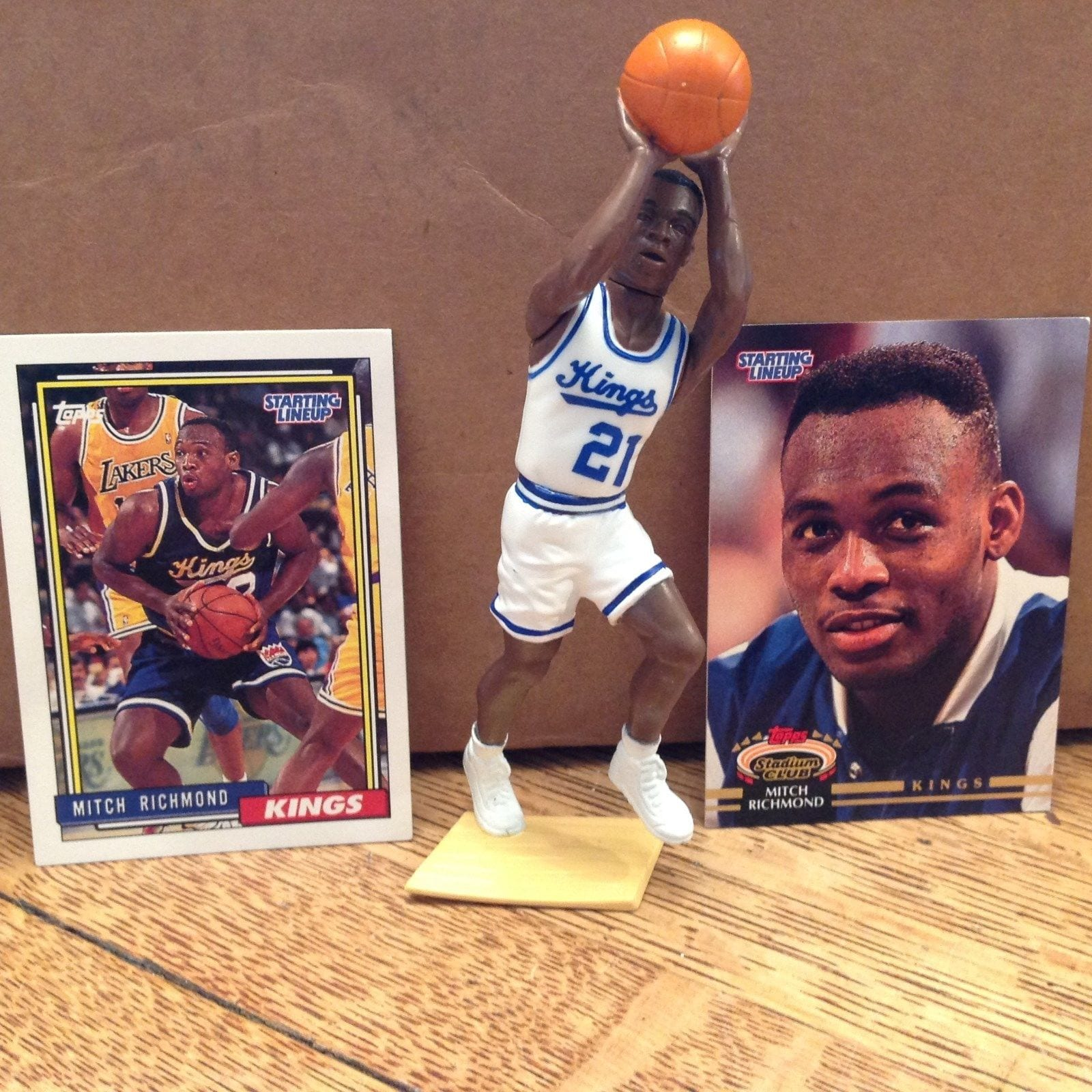 afe255edf25 1993 Mitch Richmond Starting Lineup Kenner launched its inaugural Starting  Lineup set in 1988