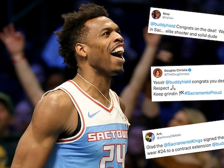 Internet Reacts to Buddy Hield Extension