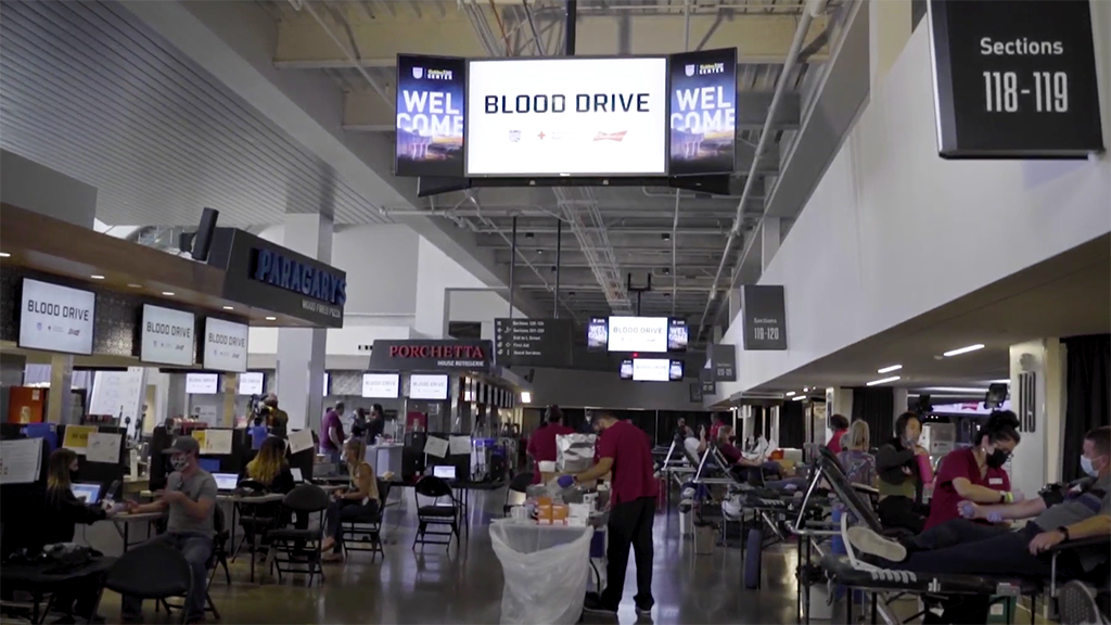 Blood Drive at Golden 1 Center