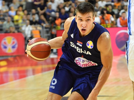 Bogdanovic and Bjelica Shine in Serbia's FIBA Run