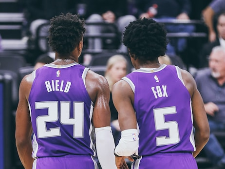 Fox and Hield Named Amongst NBA's Top Backcourts