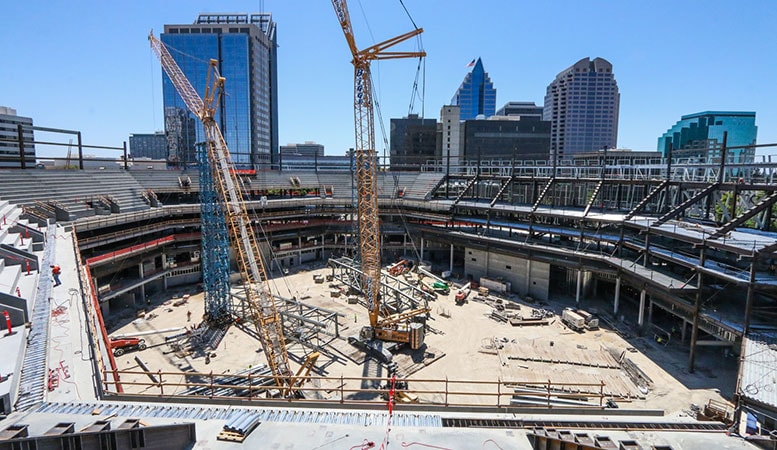 Golden 1 Center Construction Continues to Put 'Sacramento First ...