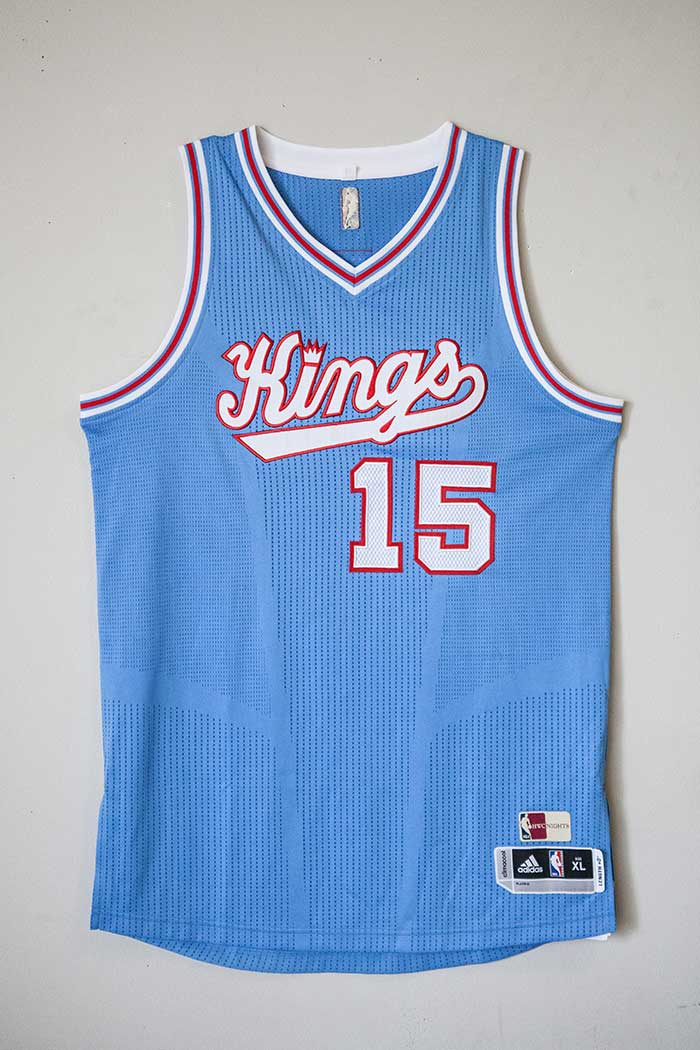 Gallery Kings Retro Baby Blue Jersey Sacramento Kings
