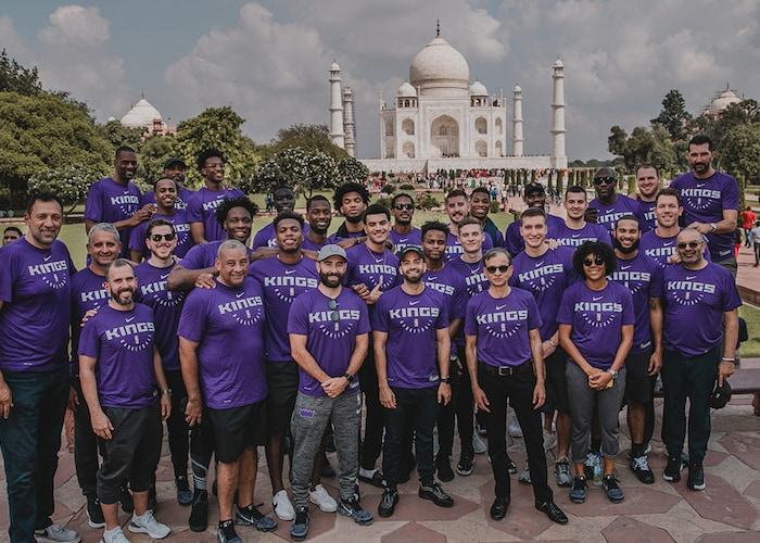 The Kings Make History and Memories in India