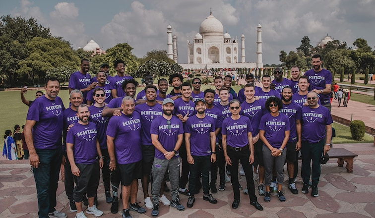 """Image result for sacramento kings in india"""""""