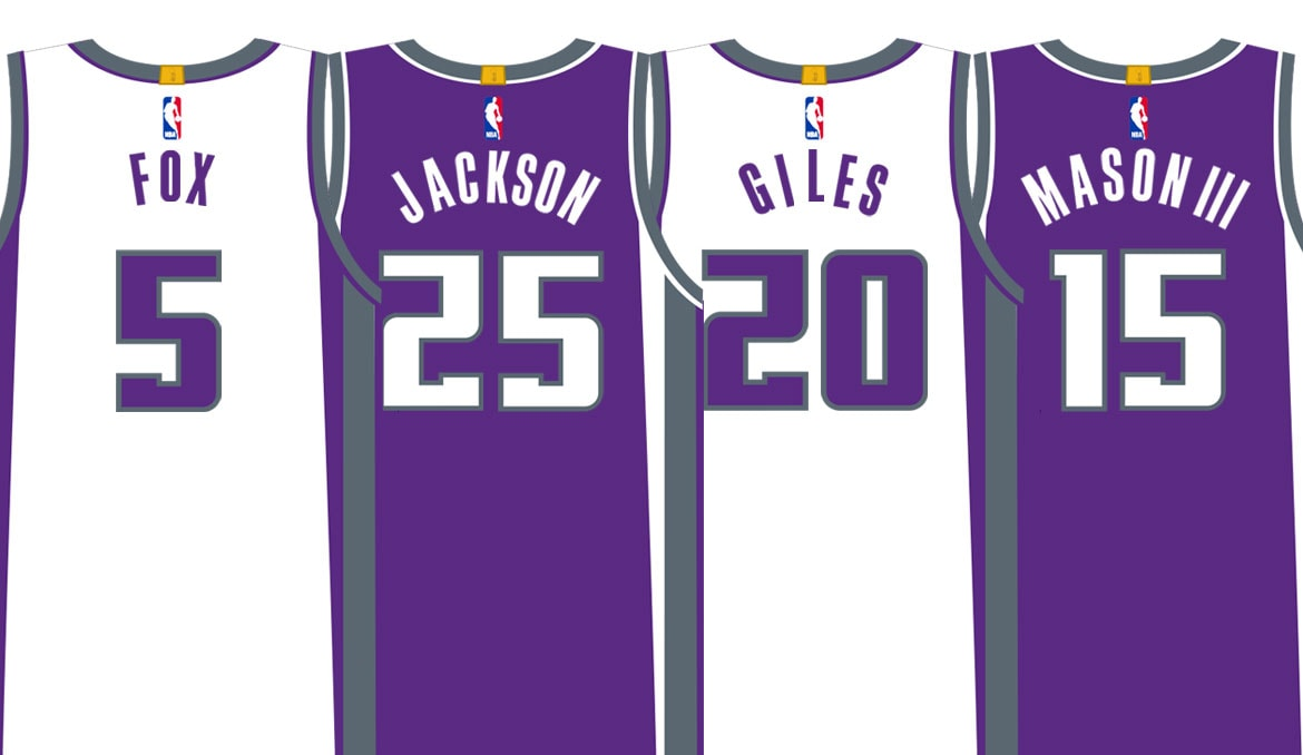 Rookie Jersey Numbers Revealed | Sacramento Kings