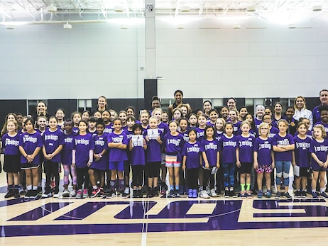 Jr. Kings All Girls Clinic X STEM Camp Recap