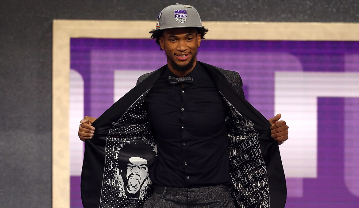 Kings Select Marvin Bagley III in the First Round of 2018 NBA Draft