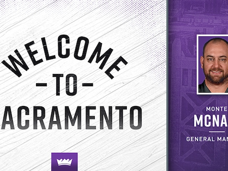 Kings Name Monte McNair General Manager