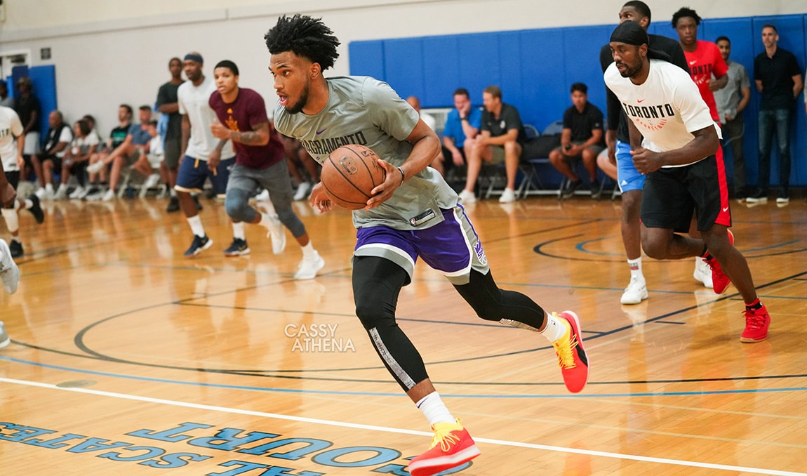 MBIII Hoops with Familiar Faces at UCLA Run