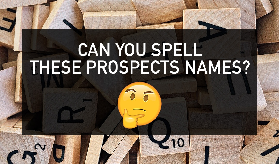 Quiz: Can you spell these prospects names? | Sacramento Kings