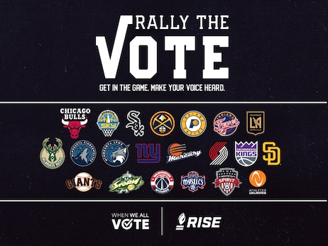 "Sacramento Kings Expand First Team-Led Nonpartisan Voter Registration Coalition ""Rally the Vote"" to 20 NBA, NFL, MLB, MLS, WNBA, NWSL Franchises with When We All Vote and RISE"
