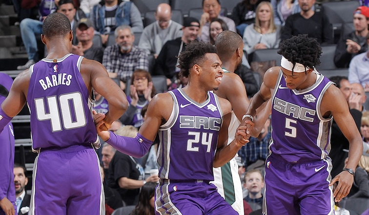 Trio of Kings Tabbed in Top 100 Players List | Sacramento Kings
