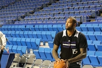 Gallery: Kings at Pelicans Shootaround