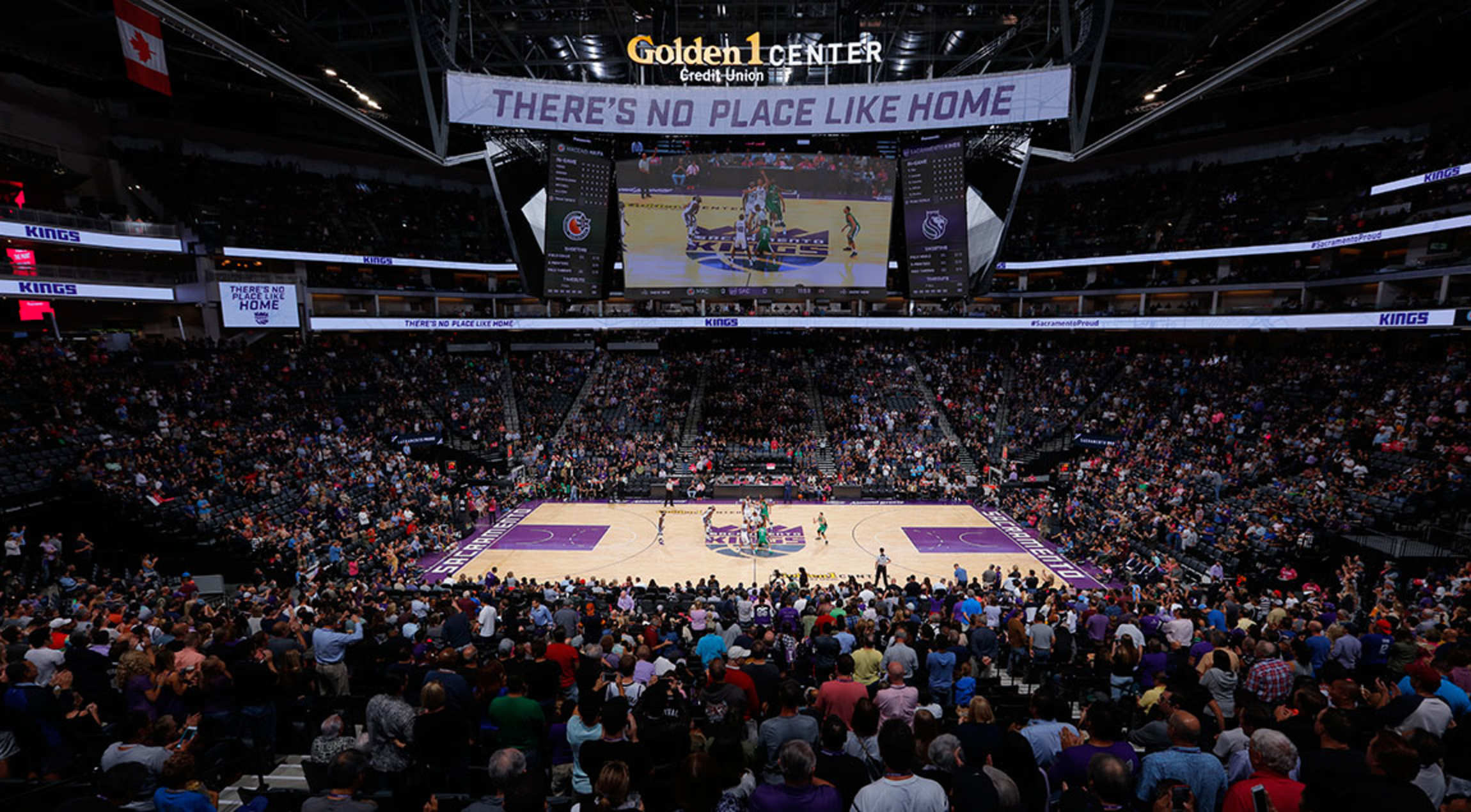 Kings Reflect On First Game Inside Golden 1 Center