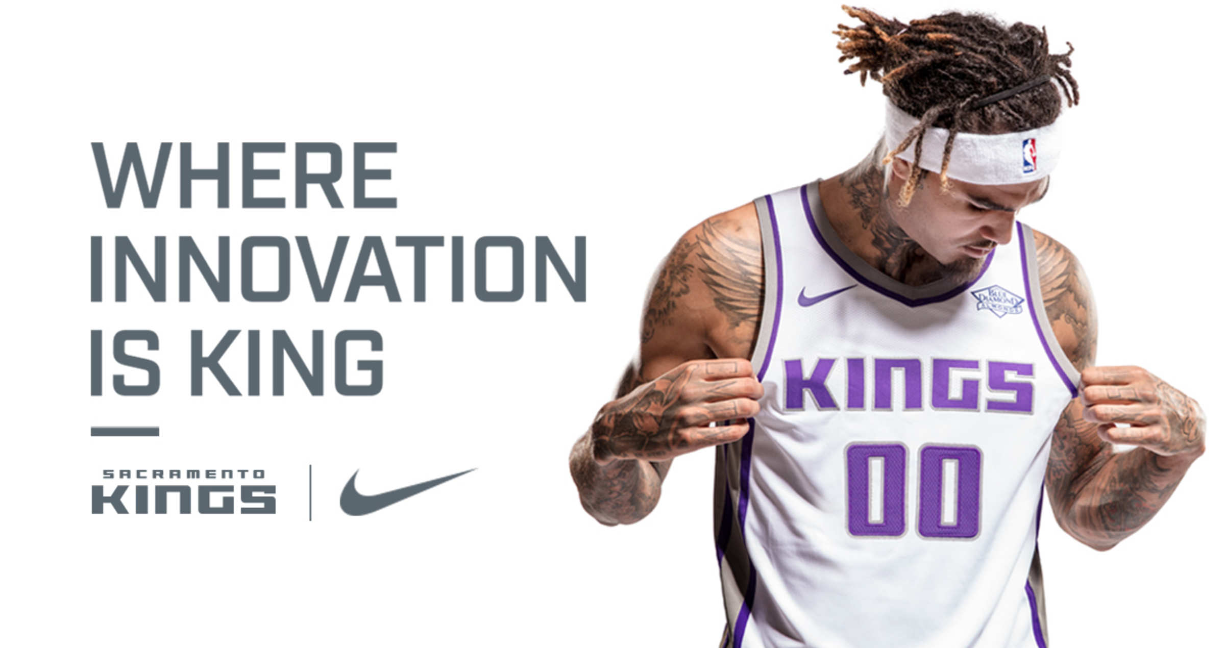 eaff2f857 Kings Unveil New Nike Uniforms