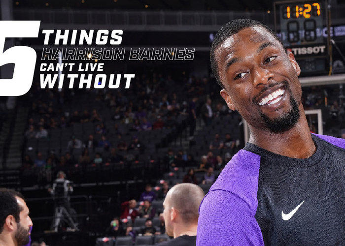 5 Things Harrison Barnes Can't Live Without
