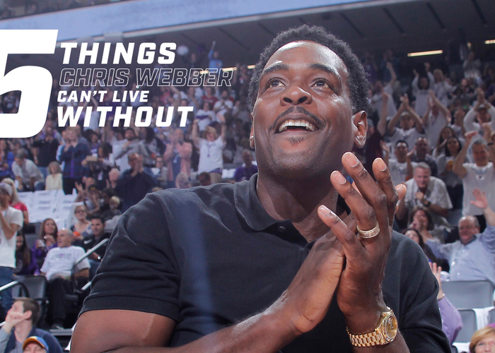5 Things Chris Webber Can't Live Without