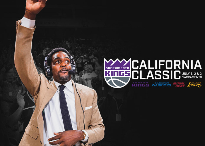 Kings Host Career Mentoring with Build.Black. Youth Featuring Legend Chris Webber to Tip-off California Classic Summer League Action
