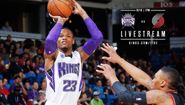 Kings-Blazers Livestream Coverage