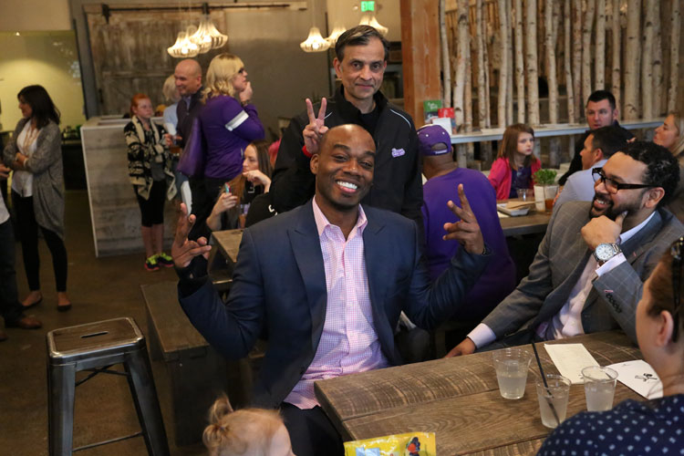 Kings Treat Season Ticket Members & Fans to Surprise Lunch