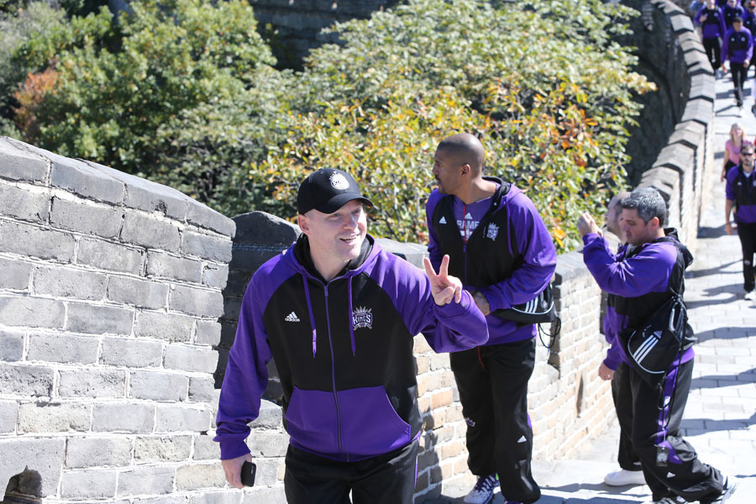 Gallery: Kings at The Great Wall of China