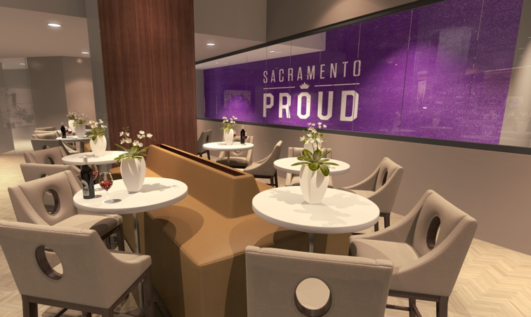 Club Lounge and Courtside Renderings