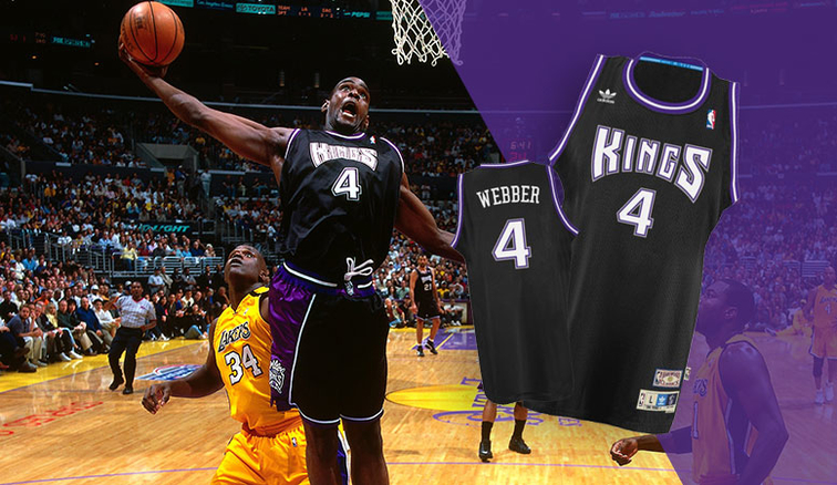 2cfc9e4efc4 C-Webb s Iconic Jersey Returns to Team Store. The adidas Webber Soul  Swingman ...
