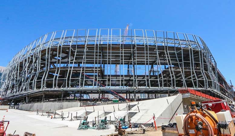 Gallery: Golden 1 Center Construction Progress 7/15/15