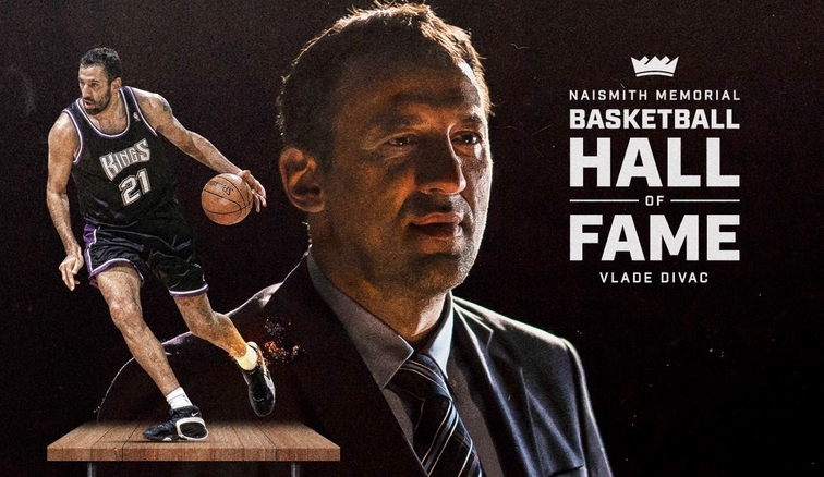 4d28d51fb3053 Kings General Manager Vlade Divac Elected Into Naismith Memorial Basketball  Hall of Fame