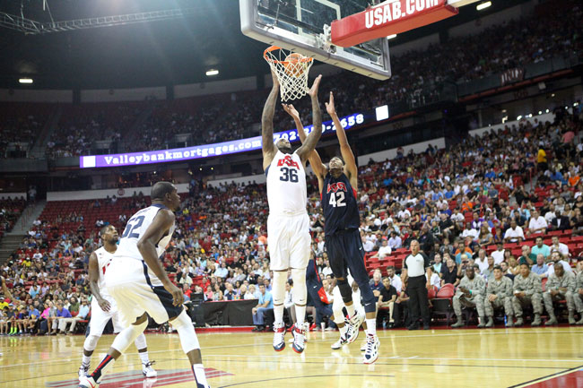 Gallery: Team USA Exhibition Game