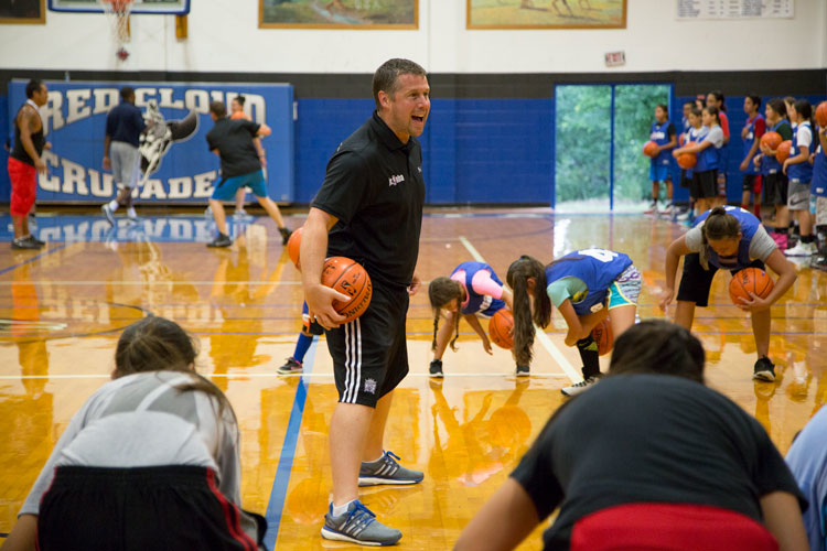 Gallery: Skal & Coach Joerger Hold Camp at Red Cloud Indian School