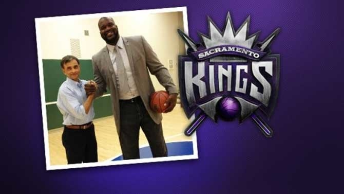 Kings Welcome Shaq to Family