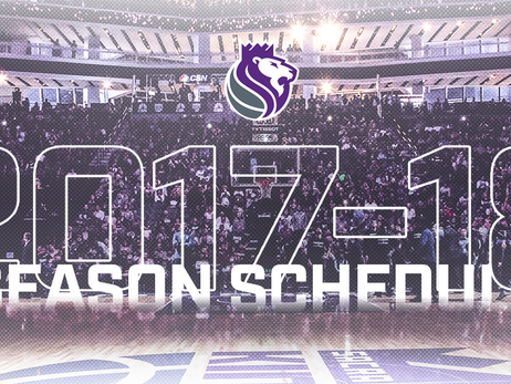 Kings to Open 2017-18 Season at Golden 1 Center Against Houston Rockets on Oct. 18