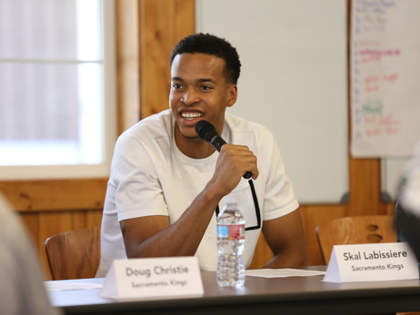 Gallery: Skal & Doug Visit Sons & Brothers Camp
