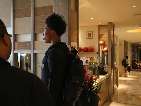 Gallery: Malachi Richardson Behind the Scenes