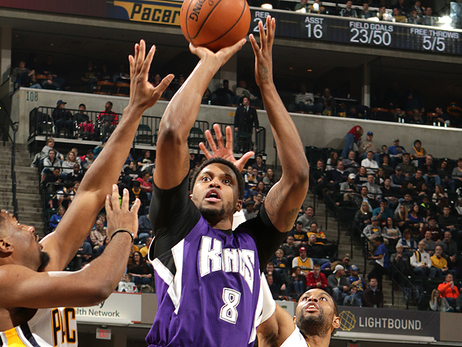 Rudy Gay vs. Pacers
