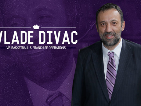 Kings Name Vlade Divac Vice President of Basketball and Franchise Operations