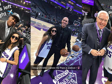 Diehard Kings Fan Experiences Game Through Lens of Snapchat Spectacles