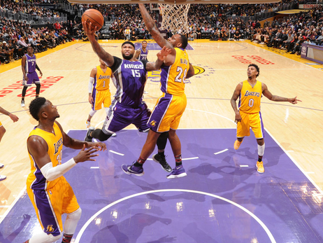 Cousins Continues to Feast on Lakers