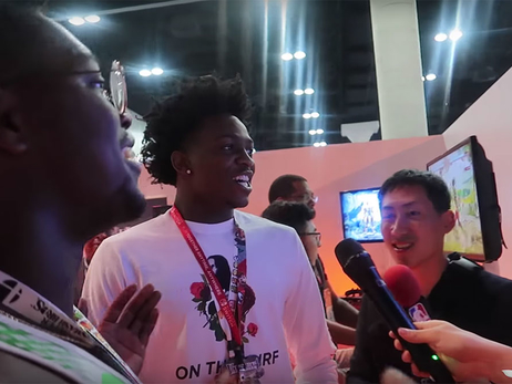 De'Aaron Explores E3 and More in Latest Vlog