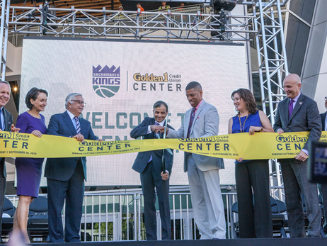 Gallery: Golden 1 Center Ribbon Cutting