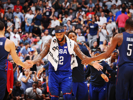 Gallery: USA vs China Exhibition 7/24/16
