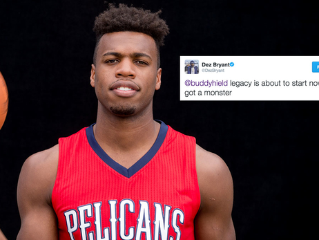 Dez Bryant Sees Big Future for Hield in Sacramento