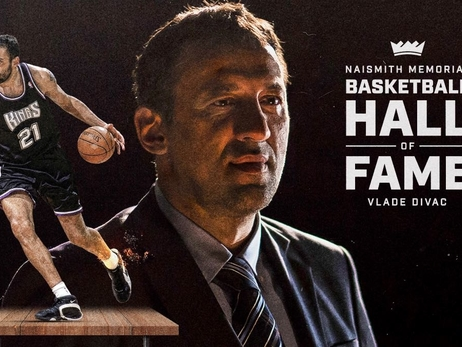 Kings General Manager Vlade Divac Elected Into Naismith Memorial Basketball Hall of Fame