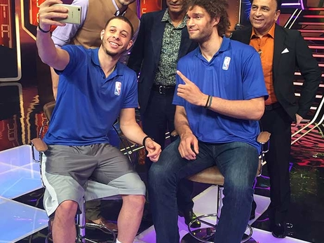 Gallery: Seth Curry Behind-the-Scenes in India