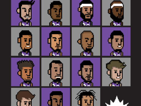 Gallery: 8-Bit Kings Roster