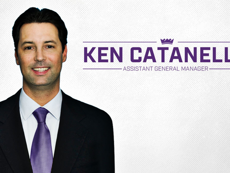 Kings Name Ken Catanella Assistant General Manager