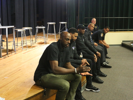 Kings Help Lead Community Discussion